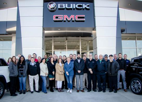 The Master Buick-GMC team in Augusta